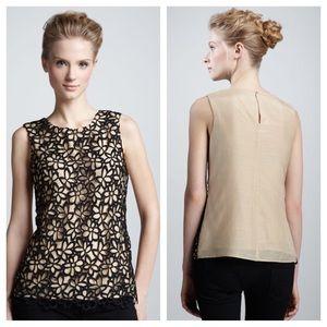 Lela Rose Tops - Lela Rose Neiman Marcus + Target Guipure Lace Top
