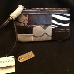 Coach Handbags - Brand New Coach Patchwork Wristlet