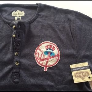 Red Jacket Other - New York Yankees Fleece Henley by Red Jacket