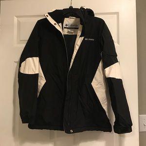 Columbia Jackets & Blazers - Women's black and white, Columbia winter coat