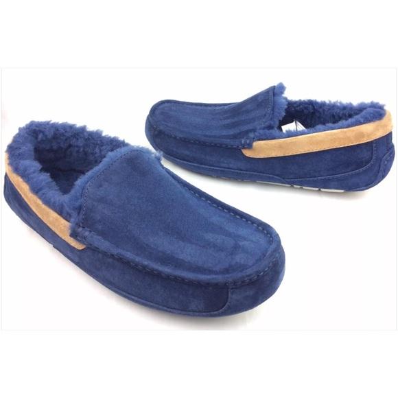 UGG Shoes   Ugg Mens Ascot Navy Blue