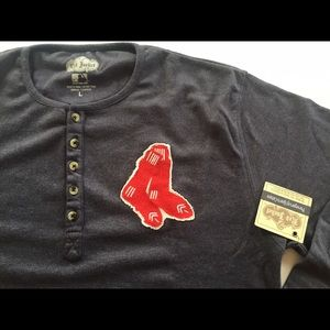 Red Jacket Other - Boston Red Sox Fleece Henley by Red Jacket