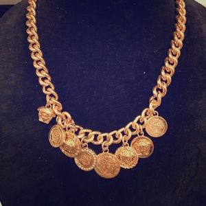 Jewelry - Authentic Versace coin necklace
