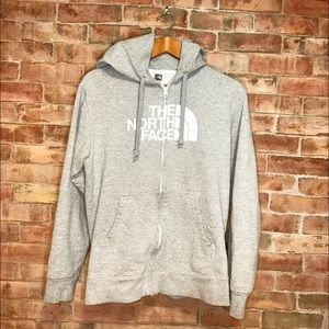 North Face Other - North Face Grey Zip Hoodie (Men's)