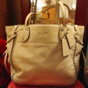 Coach Handbags - Coach Whiplash Leather Tatum Tote FIRM