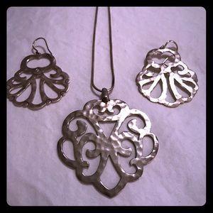 Silpada Jewelry - Silpada Eden Necklace & Earrings Set