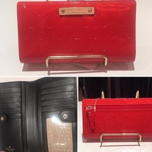Authentic Kate Spade Patent Leather Wallet