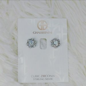 NWT GIANI BERNINI STERLING SILVER STUDS