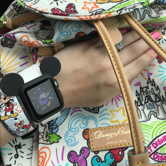 huge discount 589e7 75117 Disney Mickey Mouse ears Apple Watch case 38mm