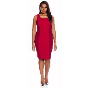 Single dress slimming sleeveless dress.