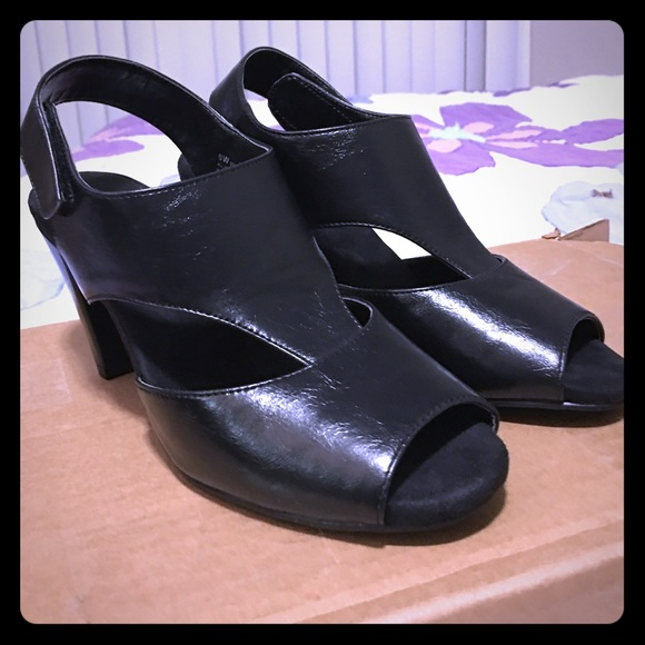 Aerosoles Vivrance Black Heels Size 8w