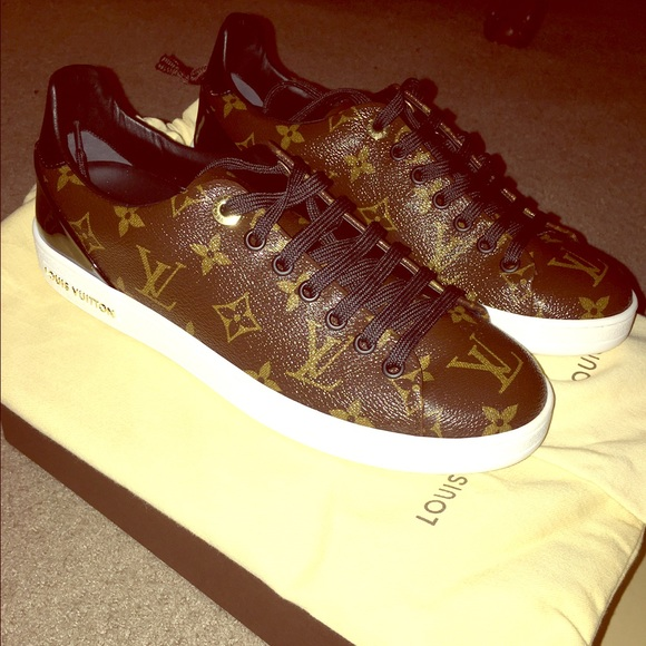 0b7626aefd56 Louis Vuitton Shoes | Brand New Frontrow Sneaker | Poshmark