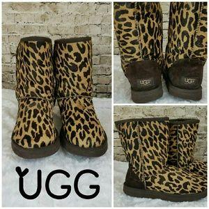 UGG Australia Classic Boot Exotic in Cheetah