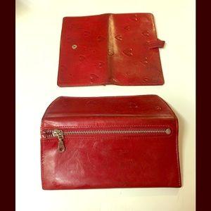 Abas Handbags - Abas wallet / check cover