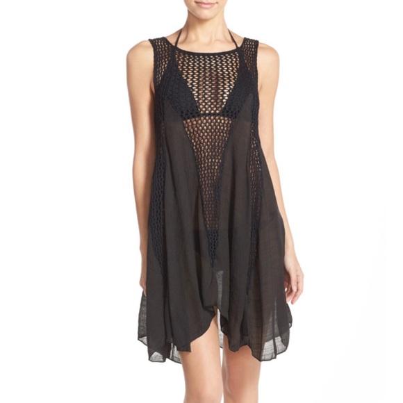 6886febba1 Elan Swim | Crochet Inset Coverup Dress | Poshmark