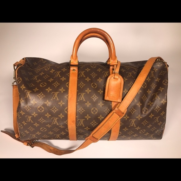 298985d8c5702 Louis Vuitton Handbags - Louis Vuitton Keepall 50 Bandouliere Monogram Bag