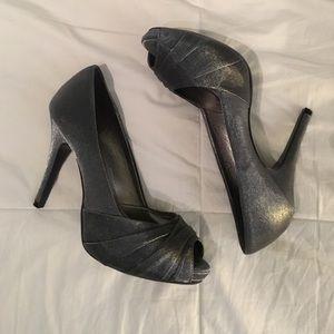 Lulu Townsend Shoes - Silver Heels