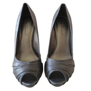 Lulu Townsend Shoes - Silver Heels