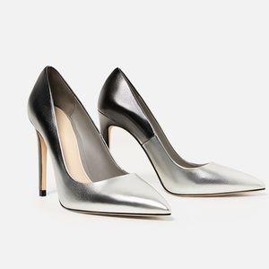 ZARA Ombré High Heel Shoes