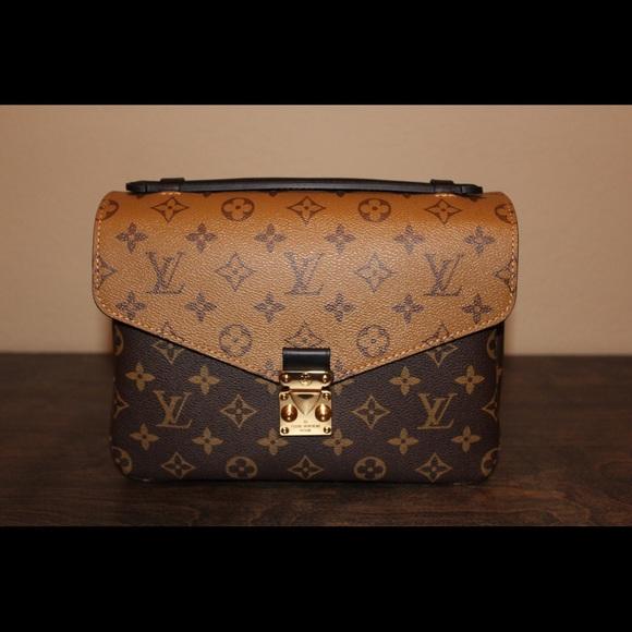 Louis Vuitton Reverse Pochette Metis (AUTHENTIC) 394858657ff22