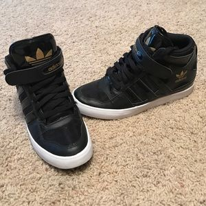Adidas Shoes - High top adidas sneakers!