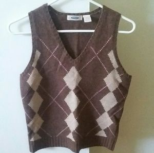 Size S Old Navy Wool Sweater Vest