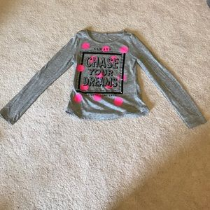Justice Other - Justice girls gray long sleeve shirt size 7