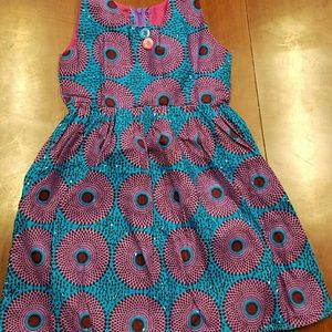 Other - African Print Dress girls-4/5