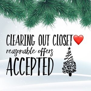 Other - Closet Clear Out !!