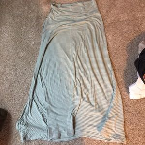 $4 Bundle Special Gray/teal maternity skirt