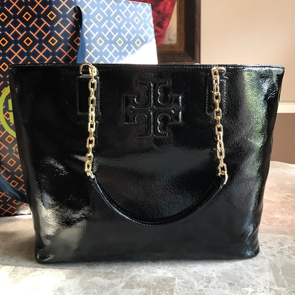 19fc2057e8b SALE Tory Burch Large Charlie Tote Bag PRICE FIRM