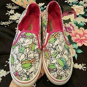 Shoes - TMNT Slip-on's