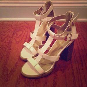 Prima Donna Shoes - white tall sandals eu 38