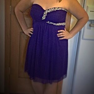 Blondie Nites Dresses & Skirts - TRYING TO GET RID OF!! Purple Formal Dress