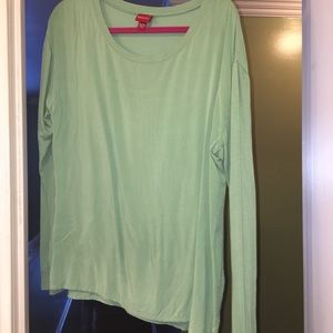 Merona Green Blouse
