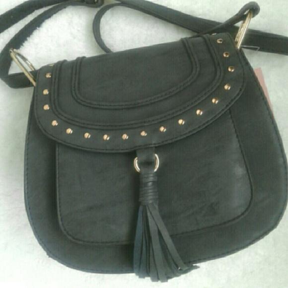 51aa09c229 NWT Franco Sarto Rex Saddle Crossbody Bag