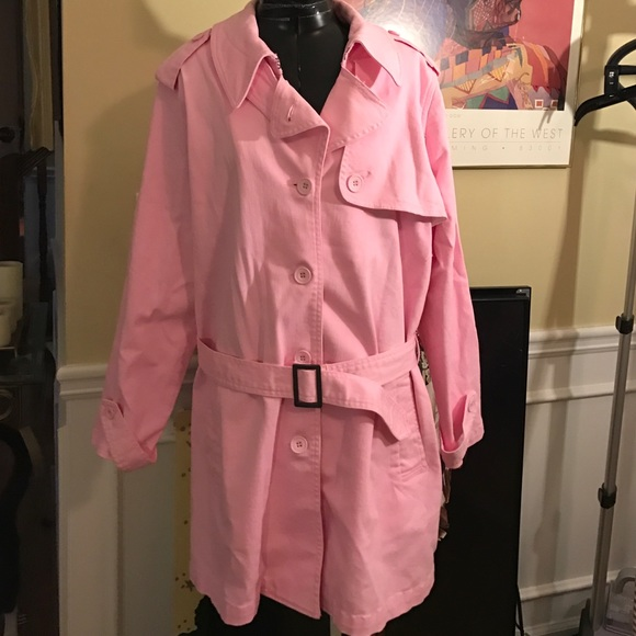 Jessica London - Jessica London Bunny Pink Rain Jacket from ...