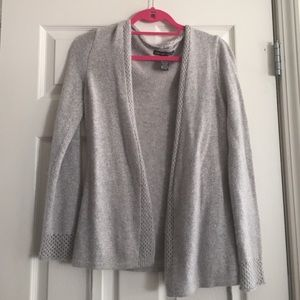 Sweaters - Silver Knit Sweater