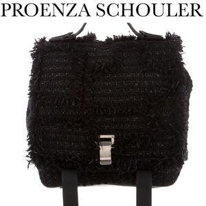PROENZA SCHOULER Handbags - PROENZA SCHOULER BLACK TWEED BACKPACK