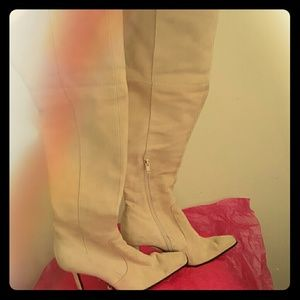 Nine West Shoes - Nine West 6.5 M over the knee suede boots