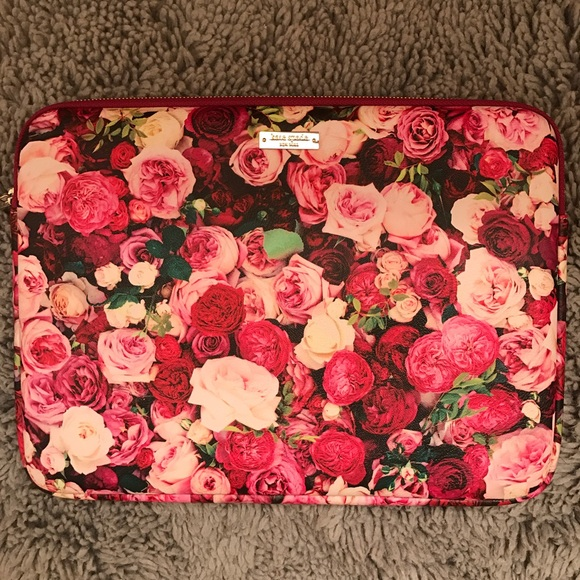 separation shoes bed6a d2131 ♠️KATE SPADE ♠️ROSES MACBOOK PRO 13 LAPTOP CASE