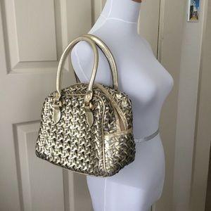 Handbags - Mixed Metallic Purse w/ Zipper Closure
