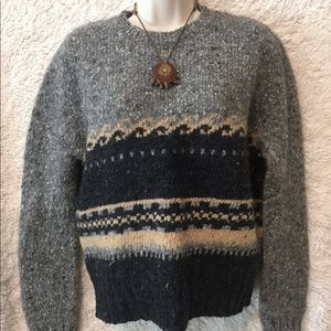Wool Fitted Hipster Sweater