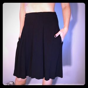 Pins & Needles Dresses & Skirts - Pins And Needles black skirt WITH POCKETS!!