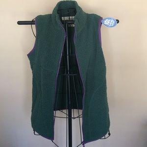 Life is good fleece vest Patagonia style