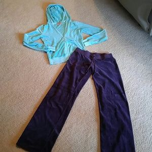 Juicy Couture Purple/Mint Jogging Set S/P