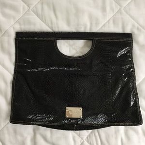 Nine West Foldover Clutch Purse
