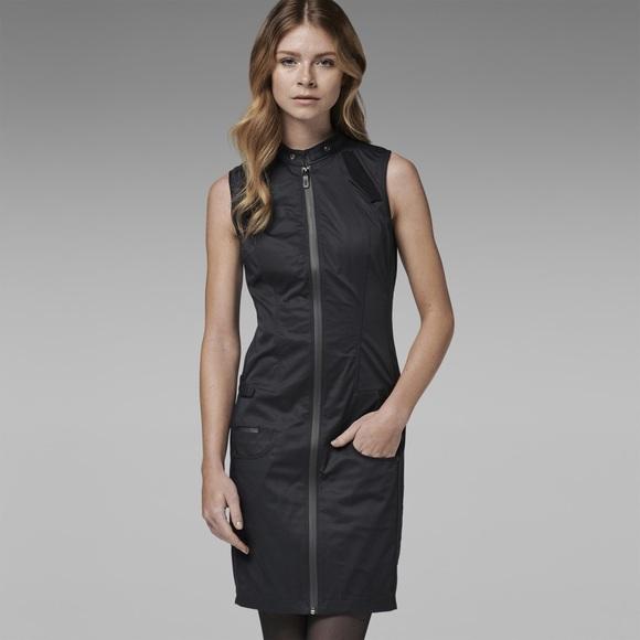 79 off g star dresses skirts sale g star asymmetrical full zip utility dress from sarai 39 s. Black Bedroom Furniture Sets. Home Design Ideas