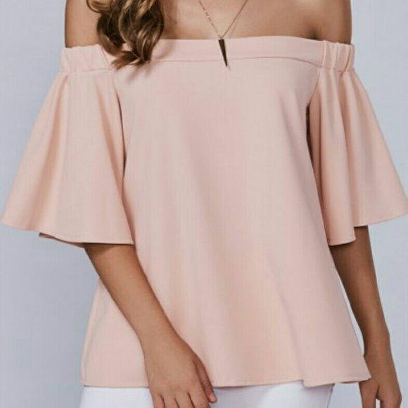 Tops - Bell Sleeve Off-the-Shoulder Blouse