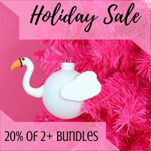 • HOLIDAY SALE 20% OFF •